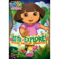 Dora the Explorer: Let's Explore! Dora's Greatest (DVD)