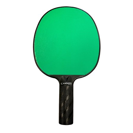 Cannon Sports Green Rubber Face Unbreakable Table Tennis Paddle