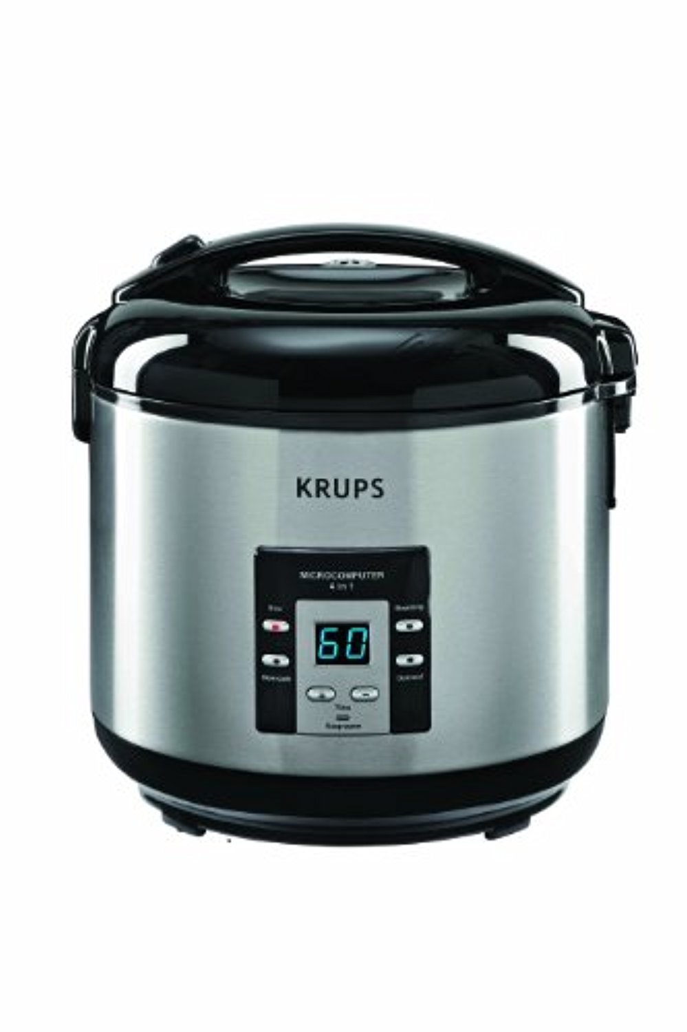 KRUPS RK7011 4-in-1 Rice Cooker and Steamer with Slow Cooking ...