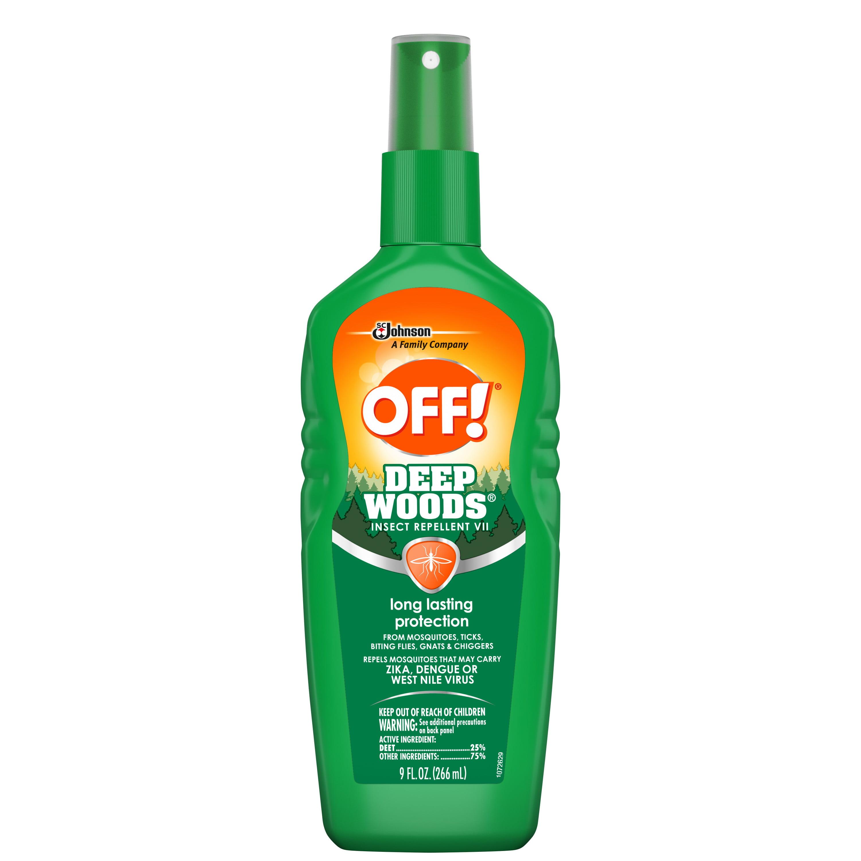 OFF! Deep Woods Insect Repellent VII, 9 oz, 1ct - Walmart.com ...