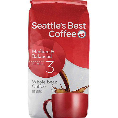Seattle's Best Coffee��� Medium & Balanced Signature Blend No. 3 Whole Bean Coffee 12 oz. Bag