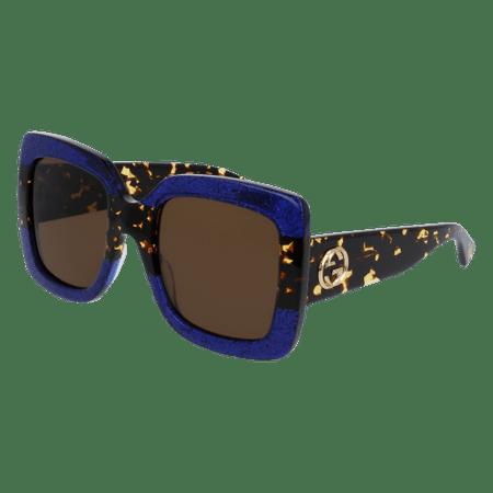 Gucci GG0083S Sunglass 55mm BLUE
