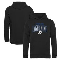 Tampa Bay Lightning Fanatics Branded Youth Arch Smoke Pullover Hoodie - Black