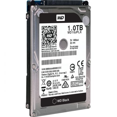 "1TB WD Black 2.5"" HDD"