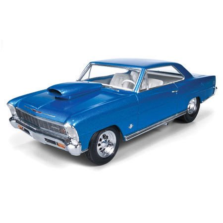 Round 2 AMT 1966 Chevy Nova Pro Street Model Kit (57 Chevy Model Kit)