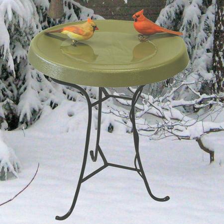 Birds Choice Pedestal Heated Bird Bath Walmart Com