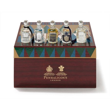 Penhaligon Men's Fragrance Collection Gift Set 5 x 0.17 oz / 5 ml New In Box ()