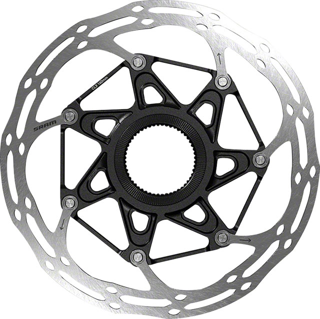SRAM, Centerline 2 Piece Rounded, Disc brake rotor, Center Lock, 140mm