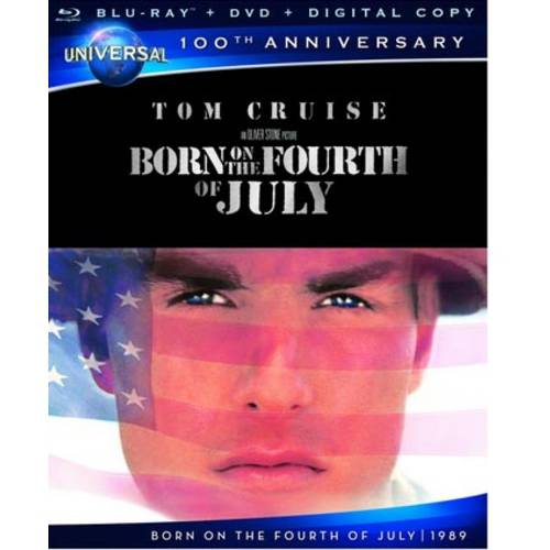 Born On The Fourth Of July (Universal 100th Anniversary Collector's Series) (Blu-ray + DVD + Digital HD) (With INSTAWATCH) (Widescreen)