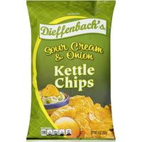 Dieffenbach's Kettle Sour Cream & Onion Potato Chips, 9 Oz.