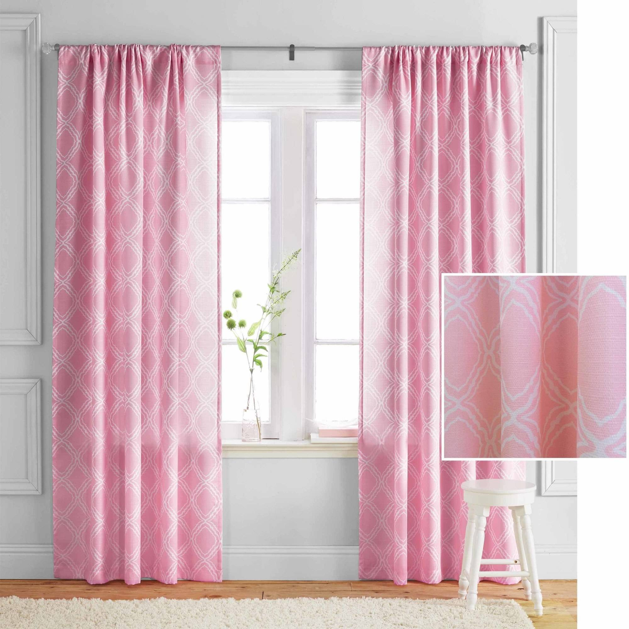 Better Homes and Gardens Trellis Curtain Panel