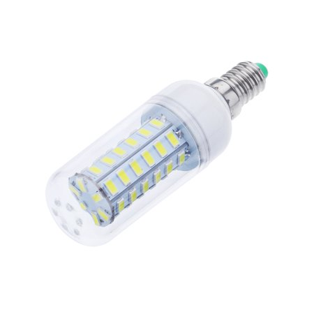 Mosunx E14 9W 48 LEDS 5730 Chip SMD Corn Light Bulb Lamp 110-130V Pure White
