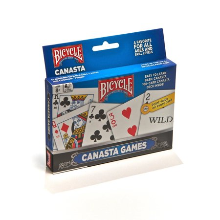 US Playing Card Company Bicycle Canasta Games (Batman Playing Cards)