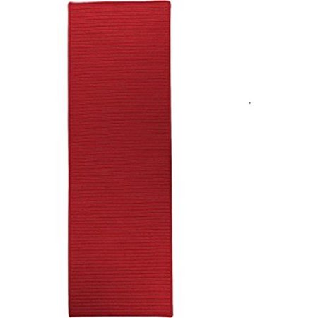 Colonial Mills Rug RT72R028X156S 2 ft. 4 in. x 13 ft. Reversible Flat-Braid Rectangle Runner  Red - image 1 de 1