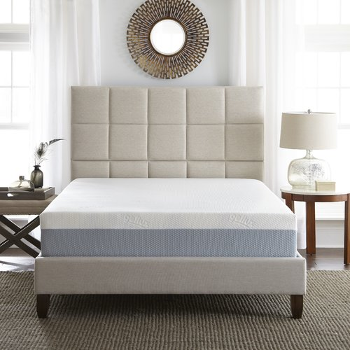 Eco-Lux Memory Foam 10'' Medium Memory Foam Mattress