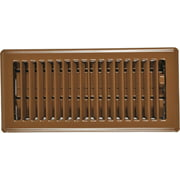 Imperial Manufacturing RG0148 Floor Register Brown 2.25 x 10 In.