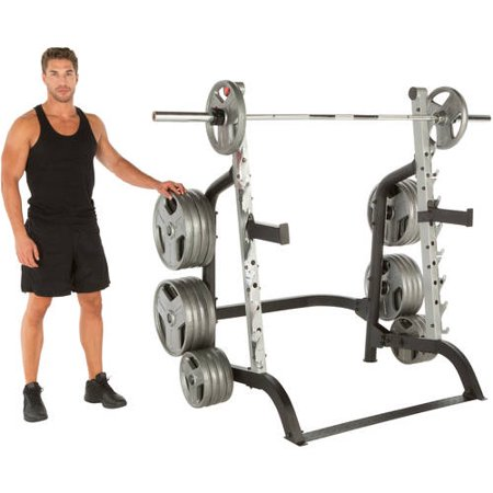 IRONMAN Triathlon X-Class 1500 lb High-Capacity Light Commercial Squat Rack