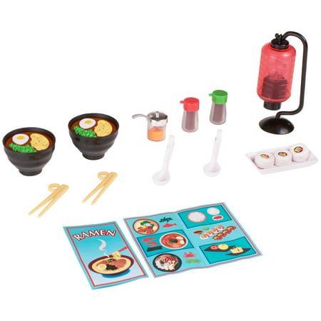 My life as ramen dinner play set for dolls, designed for ages 5 and up ()