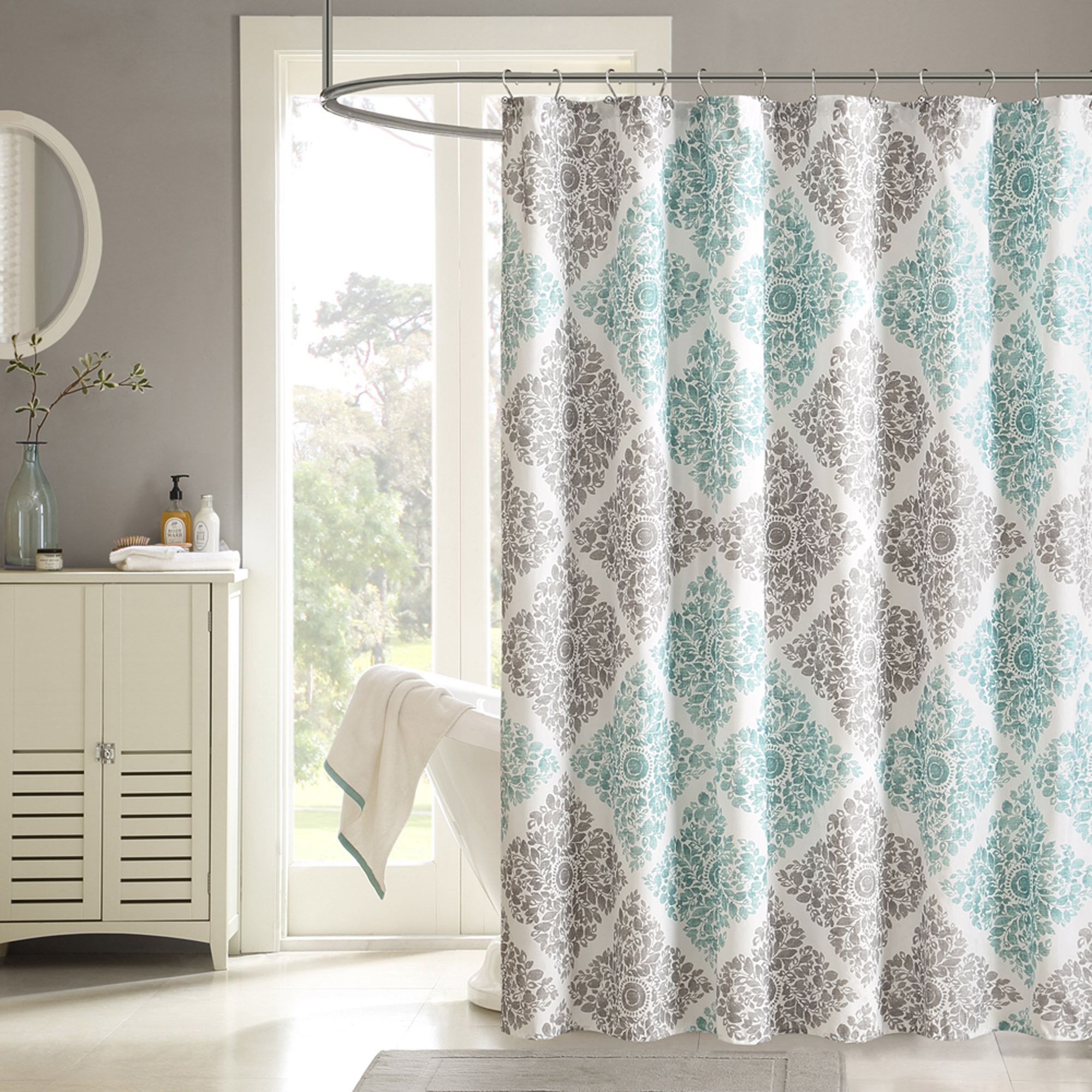 Home Essence Arbor Shower Curtain