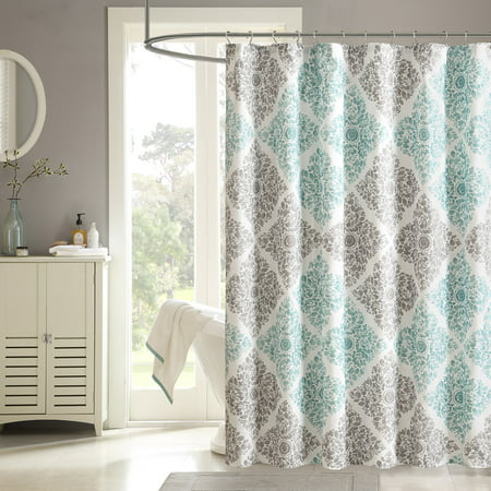Home Essence Arbor Printed Ultra Soft Shower Curtain