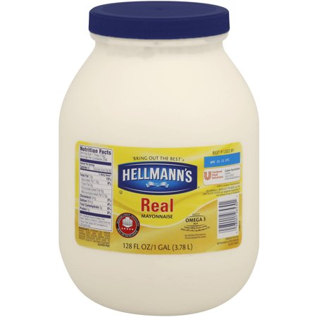 Hellmanns Real Mayonnaise  128 Oz