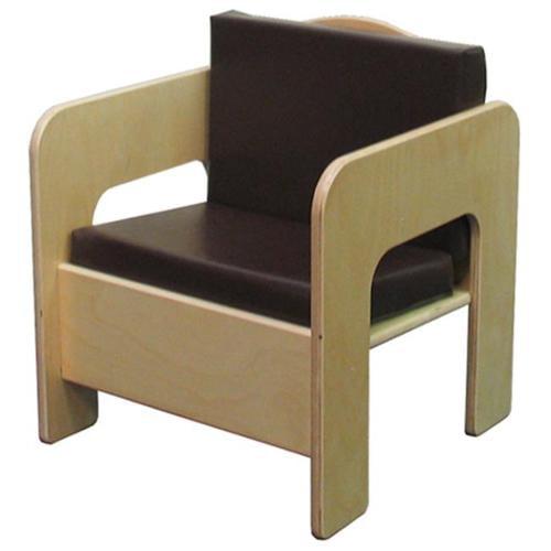 Wood Designs 31500BN Chair With Brown Cushion
