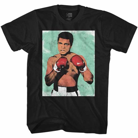 Muhammad Ali 60s Greatest Boxer Of All Time�Ready to Fight Art Adult T-Shirt Tee - image 1 de 1