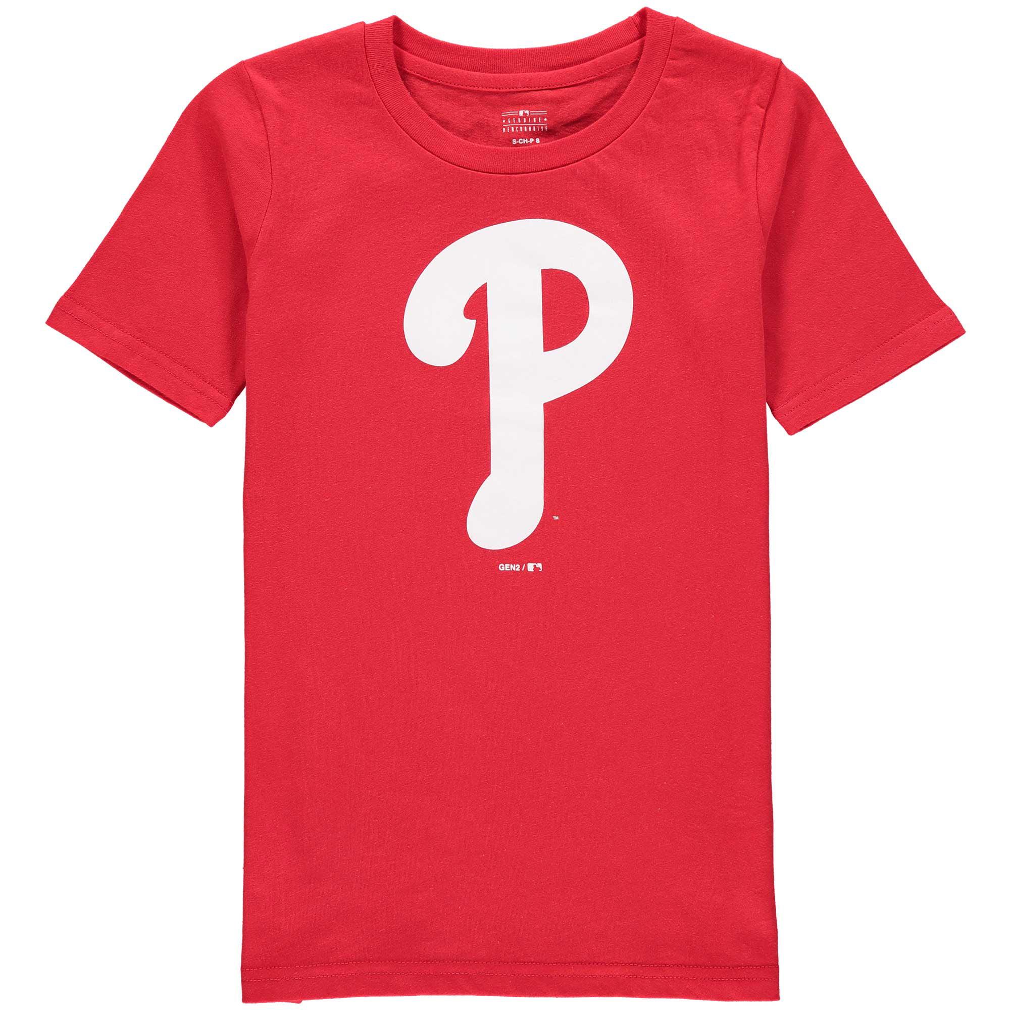 Philadelphia Phillies Youth Primary Logo T-Shirt - Red