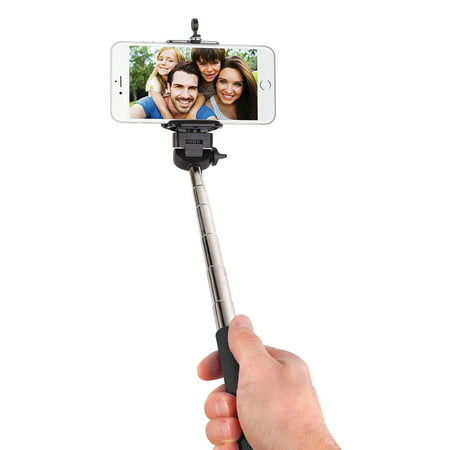 Smart Gear 42 Extendable Monopod Selfie Stick, Black - image 1 de 1