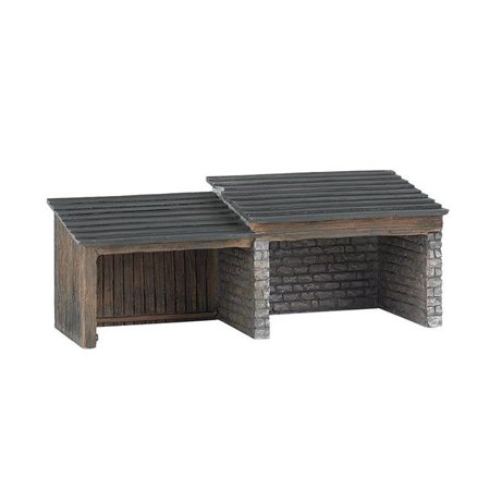 - Bachmann Trains Thomas and Friends Storage Shed Resin Building Scenery Item, HO Scale