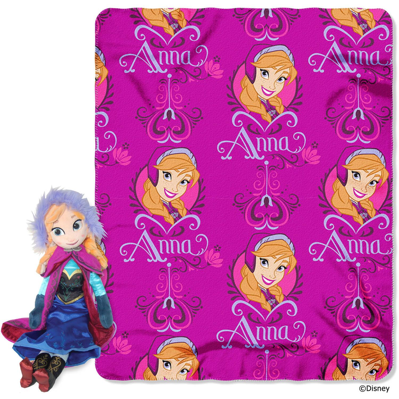 Disney congelado Anna Hugger y paño grueso y suave tiro juego + Disney en Veo y Compro
