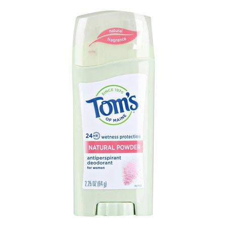 Tom's of Maine Antiperspirant Deodorant, Natural Powder, 2.25 (Best Natural Deodorant For Kids)