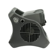 """Lasko 15"""" 3-Speed Pivoting Misto Outdoor Misting Fan with Automatic Louvers and GFCI Cord, Model 7050, Black"""