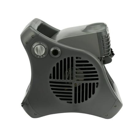Lasko Misto Outdoor Misting 3-Speed Fan, Model #7050,