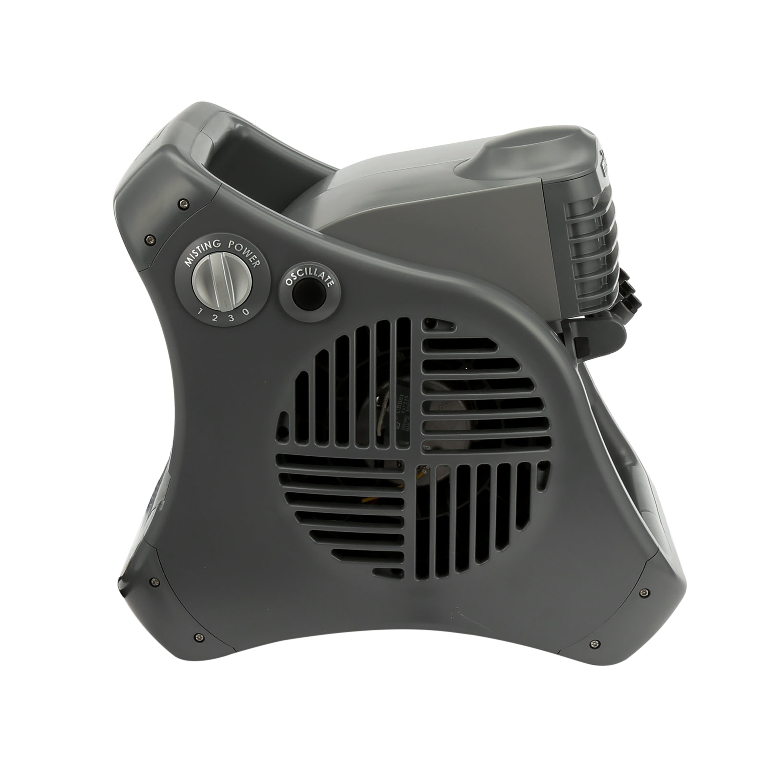 Lasko Misto Outdoor Misting 3-Speed Fan, Model #7050, Black
