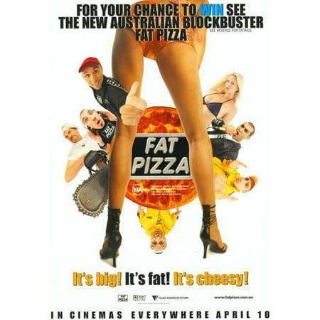 Fat Pizza Poster Movie Mini Promo