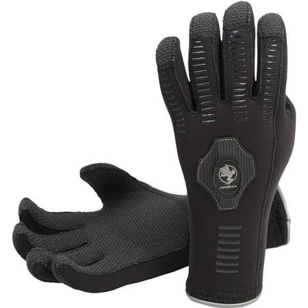 Akona 3.5mm ArmorTex Tip Gloves (Black, Large)