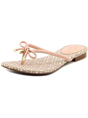 69ee54295b Kate Spade Mistic Women Open Toe Leather Pink Thong Sandal