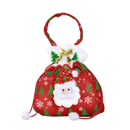 Christmas Gift Bags Bulk.Oie Classic Christmas Gift Bags Drawstring Backpack Bulk
