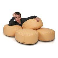 Turbo Beanbags Island Bean Bag Chair - 2 Piece Set