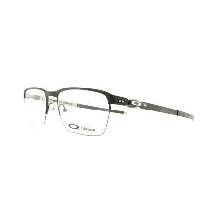 4301ced466665 OAKLEY Eyeglasses TINCUP 0.5 TITANIUM (OX5099-0153) Powder Coal 53MM -  Walmart.com