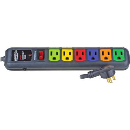 MONSTER POWER MPAV600 6-Outlet PowerProtect(TM) Surge Protector