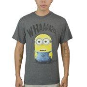 Despicable Me WHAAA? Men's Grey T-Shirt