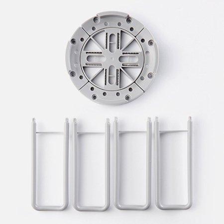 Visland Home Kitchen Retractable Bowl Dish Rack Draining Storage Holder Shelf Organizer - image 3 of 6