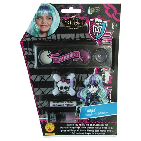 Child Monster High Twyla Makeup Kit by Rubies - Halloween Monster Makeup