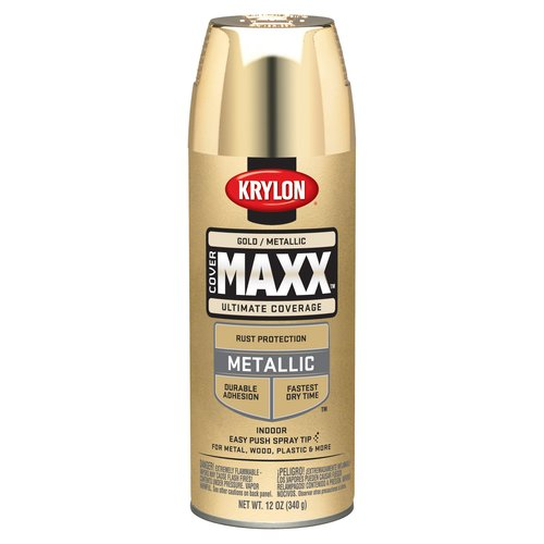 Krylon Gold Metallic CoverMaxx