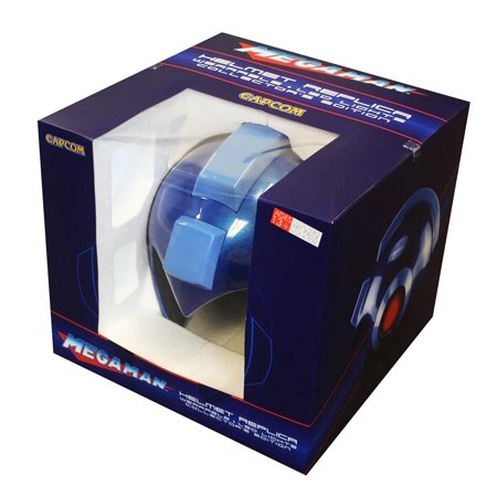 Capcom Mega Man Wearable Helmet Blue - Mega Man Helmet