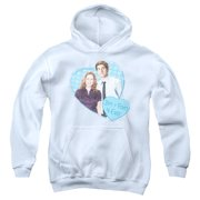 The Office Jim & Pam 4 Ever Big Boys Pullover Hoodie