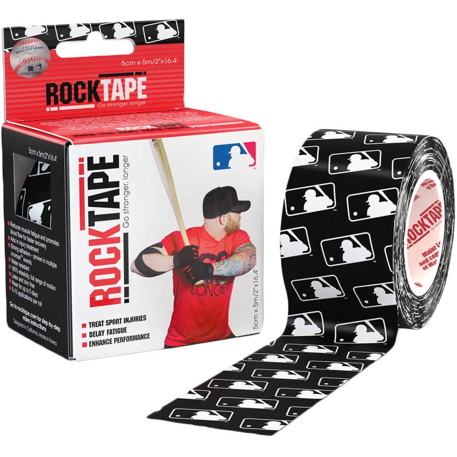 "2"" RockTape, MLB Generic Black"