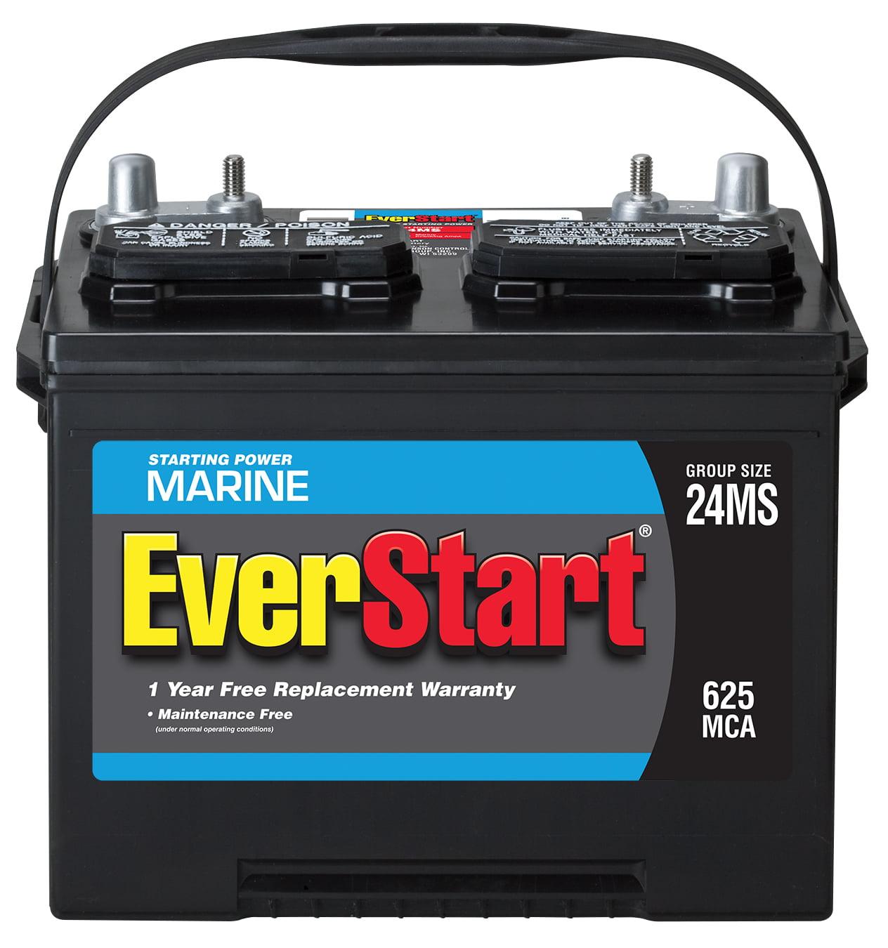 Everstart 24ms Marine Starting Battery Best Marine Batteries